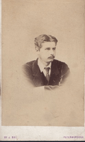 Alfred Leeds in 1872. Image Courtesy of the Leeds Family.